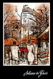 Paris in autumn time Stock Photography