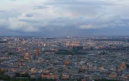 Paris avant coucher du soleil Photo stock