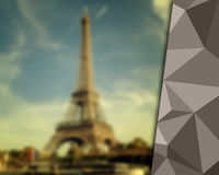Paris background Stock Images