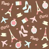 Paris background Royalty Free Stock Image