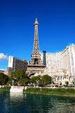 Paris and Ballys Hotel Casino, Las Vegas Stock Photos
