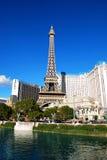 Paris and Ballys Hotel Casino, Las Vegas Stock Photos