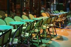 Paris bar wakat obrazy stock