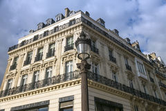 Paris in baroque royalty free stock image