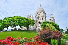 Paris. Basilica Sacre-Coeur Royalty Free Stock Photos