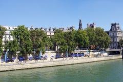 Paris beach Royalty Free Stock Image