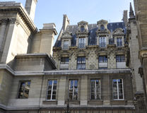 Paris,beautiful historic building royalty free stock image