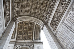 Paris. Beautiful view of the Arc de Triomphe in Paris, France Royalty Free Stock Photo