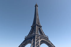 Paris Best Destinations in Europe. Eiffel Tower. 10K 3D Rendering. Stock Images