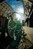 Paris bicycle Stock Photography