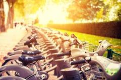 Paris bikes Royalty Free Stock Photography