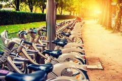 Paris bikes Royalty Free Stock Photos