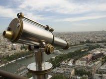 Paris Binoculars. Taken from the Eiffel Tower Royalty Free Stock Photography