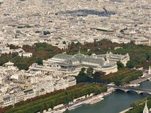 Paris bird's eye view Stock Photography