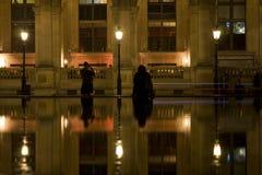 Paris bis zum Night Lizenzfreie Stockfotografie