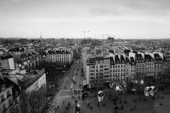 Paris black and white Royalty Free Stock Photo