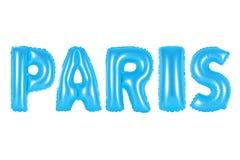 Paris, blaue Farbe Stockfotos