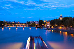 Paris at the Blue Hour Stock Photo