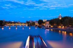 Paris at the Blue Hour Stock Photo