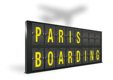 Paris boarding Royalty Free Stock Photography