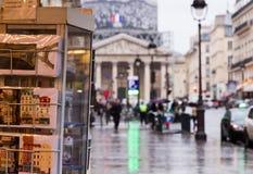 Paris borrou turístico Foto de Stock