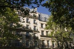Paris-Boulevard Voltaire lizenzfreies stockfoto