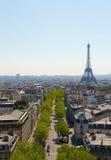 Paris Boulevards Royalty Free Stock Photos