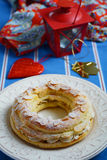 Paris-Brest pastry Royalty Free Stock Photography