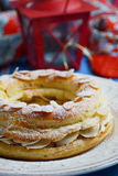 Paris-Brest pastry Royalty Free Stock Photo