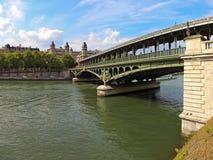 Paris Bridge Stock Images