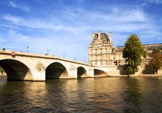 Paris Bridge Royalty Free Stock Photo