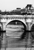 Paris bridge Obraz Royalty Free