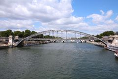 Paris bridge Royalty Free Stock Image