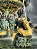 Paris - Brunnen der Meere Stockfotos
