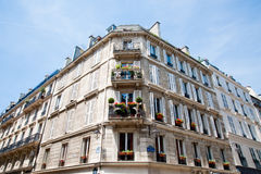Paris building Stock Image
