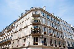 Paris building Stock Image