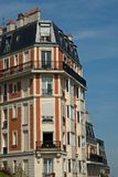 Paris Building Architecture Royalty Free Stock Photography