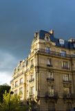 Paris. Building it illuminated Royalty Free Stock Photos