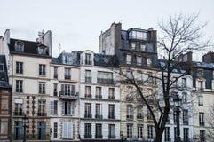 Paris byggnad Fotografering för Bildbyråer