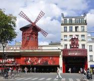 Paris, cabaret auguste du fard à joues 18,2013-Moulin à Paris Photo libre de droits