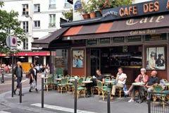 Paris Sidewalk Cafe People Eating Editorial Image Image