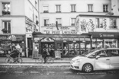 Paris Cafe Royalty Free Stock Photos