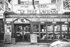 Paris Cafe Stock Photos