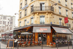 Paris. Cafe Odessa. Stock Photography