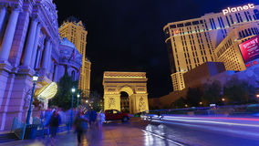 Paris casino,  las vegas Royalty Free Stock Image