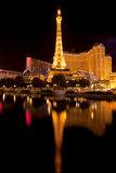 Paris Casinos along the Las Vegas strip Stock Photos