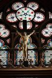 Paris, catedral de Notre Dame Fotos de Stock Royalty Free