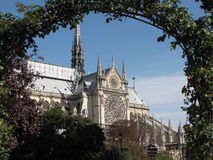 Paris cathedral Royalty Free Stock Photos