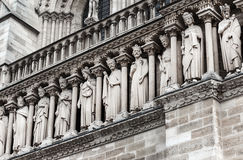 Paris- Cathedral Notre Dame Royalty Free Stock Photos