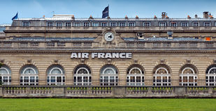 Paris - The central office of the airline Air France Stock Image